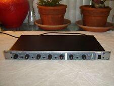 Aphex 722 Dominator II, Stereo Multi Band Peak Limiter, Rack, As Is, for Repair