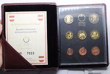 set austria 2002 8 monedas euro proof rara