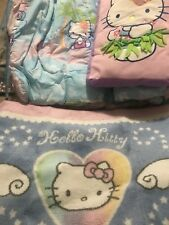 Hello Kitty twin reversible comforter (2),   Sheets, Decorative Pillow, & rug
