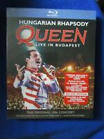 QUEEN HUNGARIAN RHAPSODY LIVE BUDAPEST 1986 DELUXE ED MERCURY'S LAST TOUR BLURAY