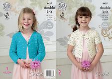 King Cole Crochet Pattern 4427 Child DK