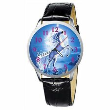 Unicorn And The Moon Stainless Wristwatch Wrist Watch