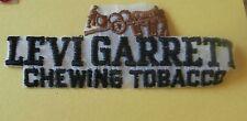 "Levi Garrett Chewing Tobacco  New Iron-On Patch 5"""