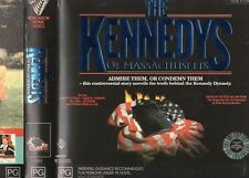 THE KENNEDYS OF MASSACHUSETTS -2 x VHS-PAL-NEW-Never played!-Original Oz release