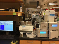DIONEX DX 500 HPLC ION CHROMATOGRAPHY SYSTEM WITH COMPUTER CD20 GP40 AS40 LC10-1
