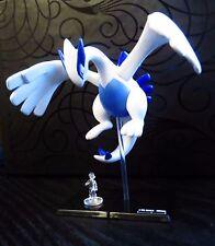 Tomy Pokemon 10th Anniversary Special Scale Gashapon Figure Japan - Lugia & Ash