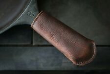 """New listing Leather Cast Iron Handle Cover (5.75""""x2"""")"""