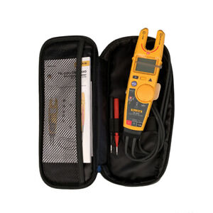 Fluke T6-600 Clamp Continuity Voltage Current Electrical Tester With carry case