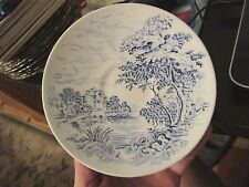"""ENOCH WEDGEWOOD """"COUNTRYSIDE"""" TEA CUP SAUCER VINTAGE 5.5"""" wide - HYMLOT"""