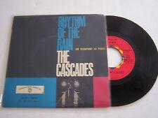 EP 4 TITRES VINYL 45 T . THE CASCADES , RHYTHM OF THE RAIN . WARNER BROS 1419 .