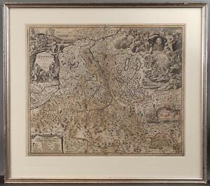 1788 Antique 18thC Johann Baptist Homann German Map Engraving, SALISBURGENSIS,,