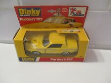 1978 DINKY TOYS #112: PURDEYS TR7 - THE NEW AVENGERS ENGLAND New in Box  W164