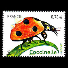 """France 2017 - Insects """"Coccinelle"""" - MNH"""