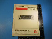 Philips 1970 AM Car Radio Manual Transistorized AM Car Radio Dodge Truck M7030