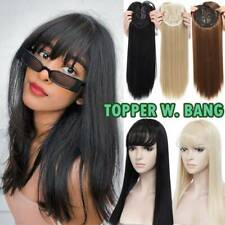 US Women Topper Hairpiece As Human Hair Piece Toupee Extension For Thinning Hair