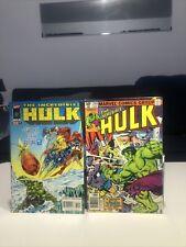 New listing Marvel Comics The Incredible Hulk vs Thor 255,448