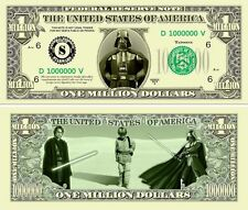 STAR  WARS  # 1 . Million Dollar USA . Billet de commémoration / Collection