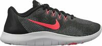 Nike Flex 2018 RN (GS) Running Shoes Black White Racer Pink AH3439-001 Youth NEW