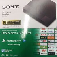 Sony BDP-S3700 BDPS3700 Streaming Blu-Ray Disc DVD Player Wi-Fi New Other Box