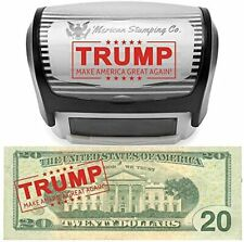 Donald Trump Make America Great Again Stamp by Merican Stamping Co Maga Stamp Se