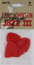 JIM Dunlop-Eric Johnson Classic-Jazz III-Player 's Guitar Picks-Confezione da 6