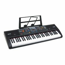 61 Key Electronic Music Keyboard Piano Electric Organ - Portable with USB & MP3