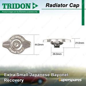 Tridon Radiator Cap for Mitsubishi Lancer Legnum Libero Magna Mirage CE Nimbus