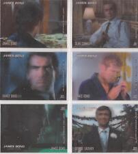 """James Bond In Motion - """"James Bond Lenticular"""" Set of 6 Chase Cards #JB1-6"""