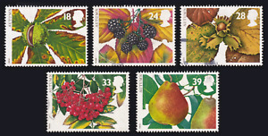 1993 Great Britain Autumn Berries and Nuts USED #60c#