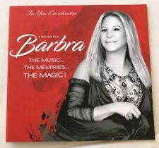 BARBRA STREISAND- The Music, Mem'ries, The Magic - Emmy Press Booklet