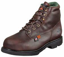 "Thorogood Men's 6"" I-Met2 Work Boot Steel Toe Dark Brown 8.5 EEE"