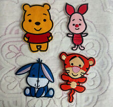 Winnie the pooh,Eeyore,Tigger,Piglet Embroidered Cloth Patch Cartoon Characters