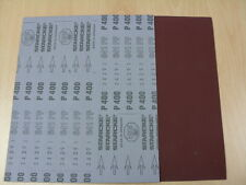Starcke Aluminium Oxide Sandpaper - Flexible Cloth P400 - 1 pack of 10 sheets