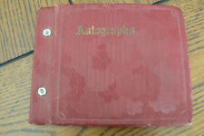 Vintage 1935 Autograph Book Album Atwood Kansas FREE US SHIP