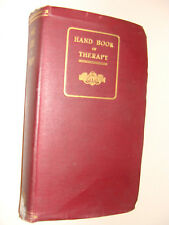 Handbook of Therapy 1920 Osborne & Fishbein American  Medical Assoc  Reference