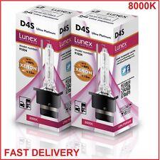 2x D4S LUNEX XENON HID LAMPADINE compatibile con XenEco 42402 Xenarc 66440 8000K