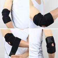 FP- BL_ KE_ Elbow Support Sleeve Brace Arm Pain Injury Work Gym Sports Tennis Be