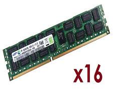 16x 8GB 128GB RDIMM ECC REG DDR3 1333 MHz Speicher f DELL PowerEdge C6100 C6220