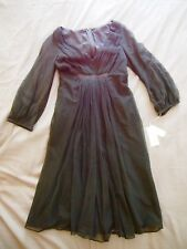 Charles Chang-Lima Black layered Cotton/Tulle Occasion/Cocktail Dress NWT Size 4