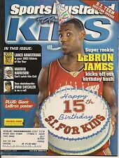LEBRON JAMES CLEVELAND NBA BASKETBALL SPORTS ILLUSTRATED FOR KIDS 2004 ROOKIE