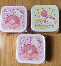 Sanrio Hello Kitty Donut Cake Sweets Ichiban Kuji Bento Set Japan Prize NEW