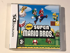 NINTENDO DS *** GAME BOX & MANUAL ONLY *** NEW SUPER MARIO BROS