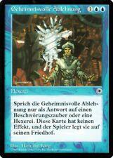 """Magic The Gathering (MtG) Karte """"Geheimnisvolle Ablehnung"""" deutsch neuwertig"""