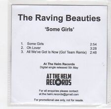 (FE271) The Raving Beauties, Some Girls - 2014 DJ CD