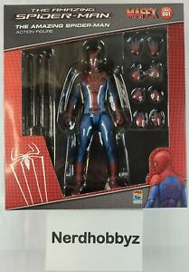 Mafex No.001 The Amazing Spider-Man Medicom Toys - NEW In Hand FREE Shipping