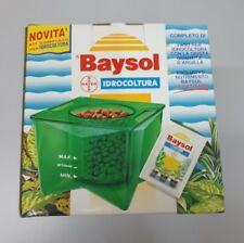Kit completo Idrocultura Idroponica Baysol Bayer Vaso acqua Argilla giardinaggio