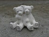 Pair of Teddy's Garden Ornament Latex Only Mould/Mold *NEW***