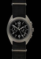 BRAND NEW RAF / N.A.T.O PATTERN HYBRID MILITARY PILOTS CHRONOGRAPH WATCH