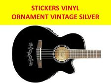 ORNAMENT VINTAGE SILVER STICKER VISIT OUR STORE WITH MANY MORE MODELS