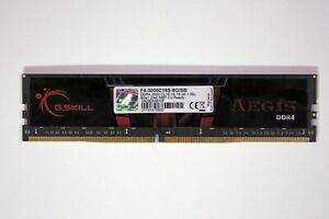 G.SKILL Aegis 8GB RAM 1x 8GB PC4-24000 DDR4 3000MHz XMP Memory F43000C16S8GISB